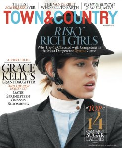 Town & Country July August 2012 cover