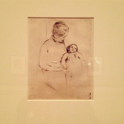 Mary Cassatt at NYPL Solicitude