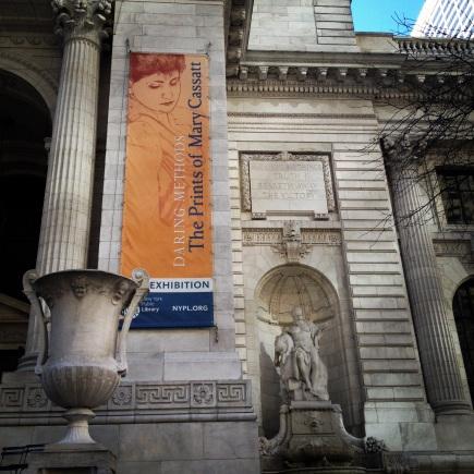 Mary Cassatt at NYPL